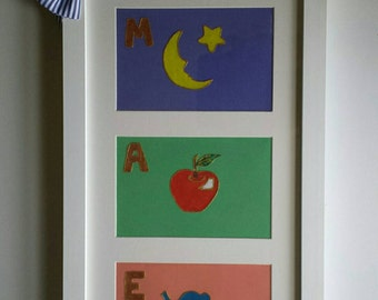 Personalized Baby Art