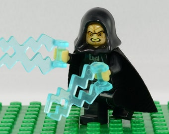 Darth Sidious Custom minifigure (Lego Compatible) Star Wars: Episode I-VII 1-7 The Force Awakens Villain Sith Rogue One Senator Palpatine