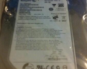 SEAGATE hard drive  7200 rpm 250GB st32503124AS