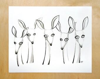 Dears art print