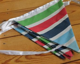Stripe bunting