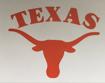 Texas Longhorns Decal
