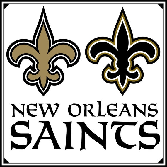 New Orleans Saints Football Logo Svg 72png By Svgsilhouettedxf