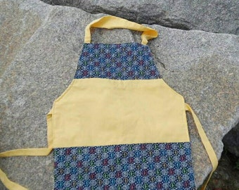 Handmade Quilted Reversible Apron