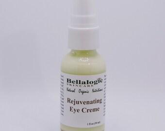 Rejuvenating Eye Creme, eye cream, cream, moisturizer, natural cream, natural eye cream, organic eye cream, natural eye creme
