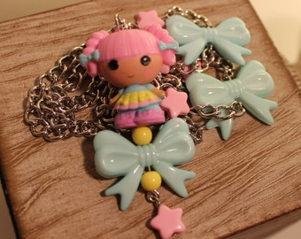 Pink Lala Loopsy Necklace