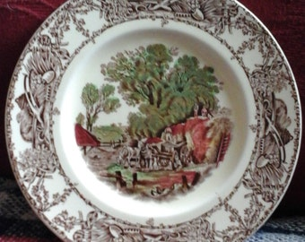 Rural Scenes Royal Staffordshire  Potttery