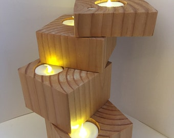 Adjustable Four-Candle Tower