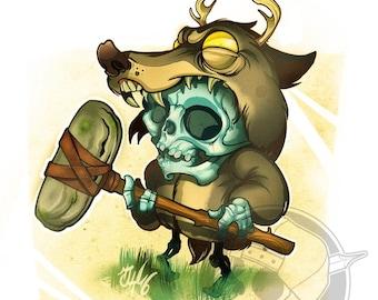 Little deadly druid