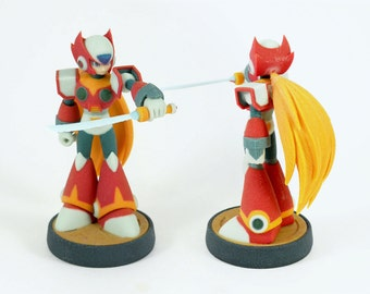 Megaman Zero - custom Amiibo