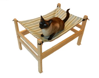 Wowee.Pet Cat Hammock / Cat Bed / Small Dog Bed / Pet Cabana