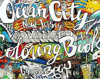 Ocean City, NJ Coloring Book