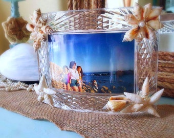 Crystal Curved Photo Frame