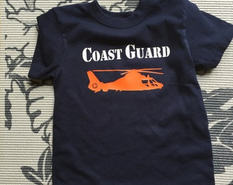 Coast Guard Helicopter T-Shirt