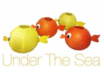 Fish Paper Lantern Decorations
