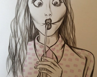 Illustration funny face 1