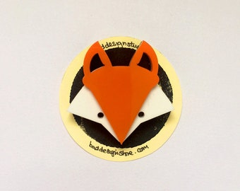 Fiesty Fox Badge