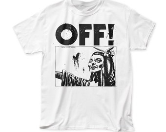OFF! Satan Did Not Appear adult tee - OFF05(White)