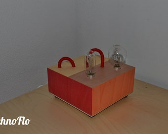 Table lamp, desk, nightstand-Light Snake-handmade in Italy