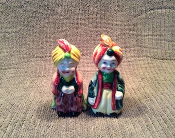 The Sultan and His Wife    salt pepper set