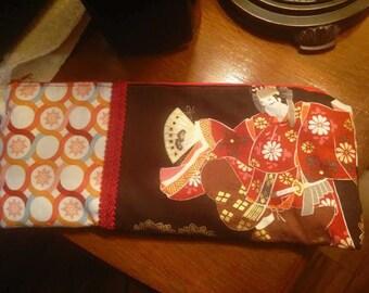 Zip Top Bag Asian Print