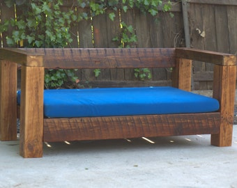Reclaimed Wood - Outdoor Love Seat / Chair