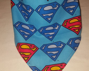 Superman Bandana Bib