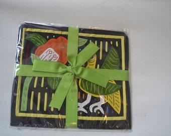 Mola Guna (Kuna) Indian San Blas,Panama, Old, Vintage, Traditional Textile Art