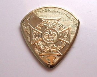 Coin Guitar Pick - Poland 2 Zloty