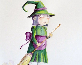 Marmot in witch