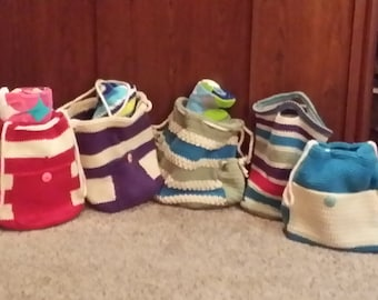 Beach Bags - Crocheted