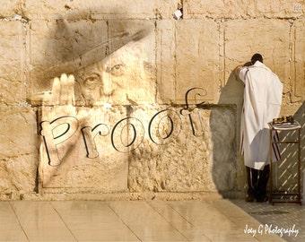 Lubavitch Rabbi Wall
