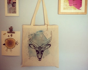 Antelope Canvas Shopper