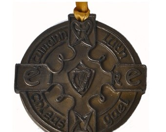 "Bronze GAA Medal Hanging Decoration 4"" [TSF41]"
