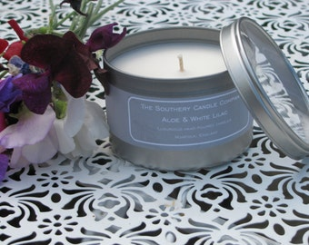 Handpoured soy wax container candle
