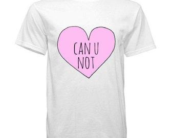 Can U Not Heart Tee