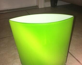 Vintage Green Vase