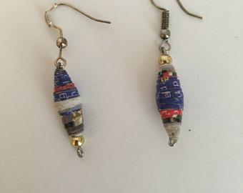 Earrings from Zimbabwe