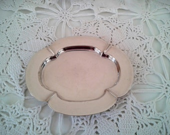 Vintage Silver plated Trinket Dish from Lloyd Payne and Amiel, Manchester 1800's.  Gifts