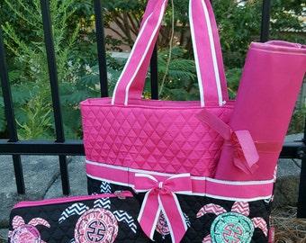 Diaper bag, Monogrammed diaper bag, Baby diaper bag, Personalized Diaper Bag, Boys Diaper Bag, Girls Diaper Bag