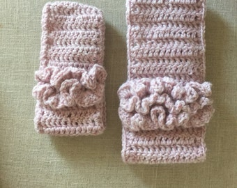 Crochet handmade ear warmers made to order in baby, toddler, and adult sizes. FREE SHIPPING
