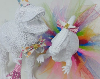 Party Animals = Dinosaur Desk Pets, Cake Toppers, Party Decor