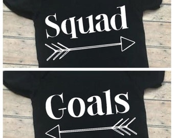 Squad goals twins set - twins - babies - baby boy - baby girl - toddler