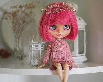 Blythe/Azone oversize knitted dress