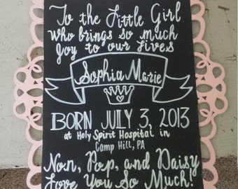 Personalized event signs