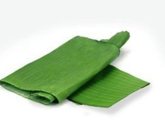 Banana Leaves Hoja De Platano for Cooking and Decoration 16oz