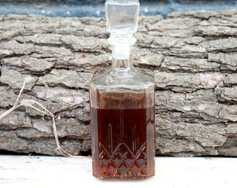 groomsmen gift Vintage whiskey Decanter Kitchen Decor Glass Decanter Retro Decor whiskey bottle decanter for alcohol decanter for whiskey