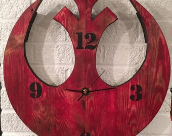 Star Wars Rebel Alliance Clock