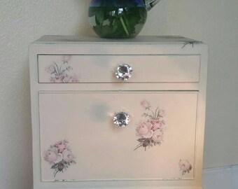 Decoupage Vintage Cabinet