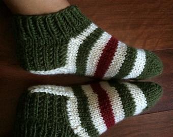 100% Wool Russian Handmade Socks